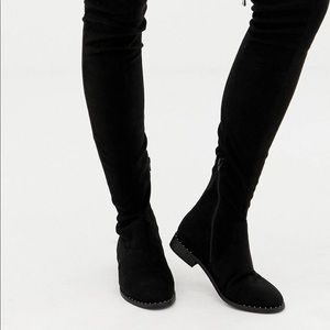 ASOS wide fit over the knee boot